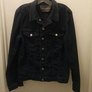 ⭐HP⭐Frankie Morello distressed jean jacket size 48